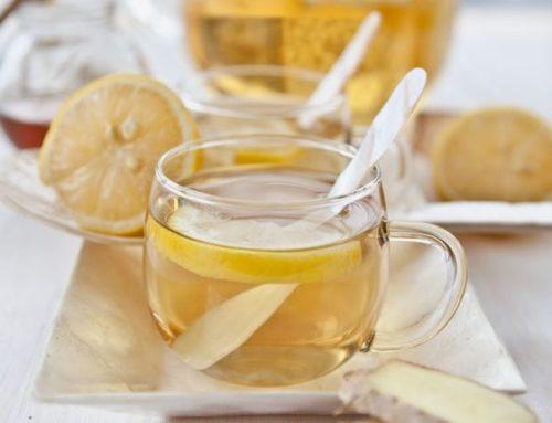Goede en gezonde start: Gember thee