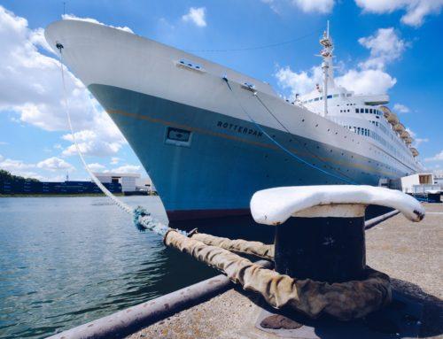 Yoga op een super locatie: SS Rotterdam!!!