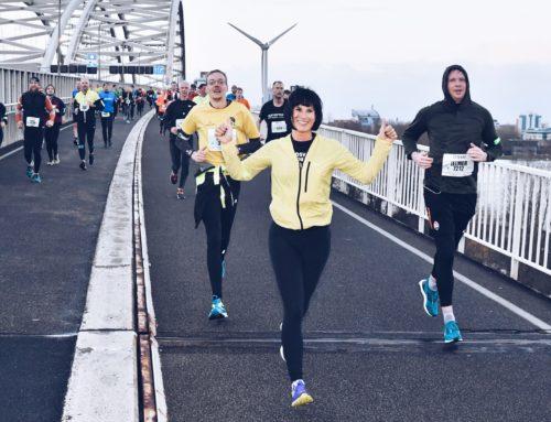 Op weg naar de Marathon van Rotterdam op 7 april 2019